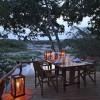 Rekero-Camp-Dining-deck-river-view-evening