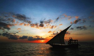 romantic dhow sundowner cruise