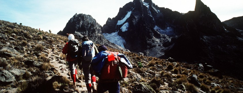 HIKING MOUNT KENYA