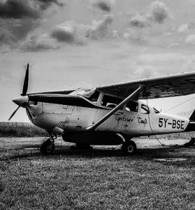 kenya -flying safari